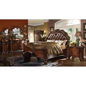 Acme Bedroom Set 22000 Acme Vendome Bedroom Set Cherry Collection