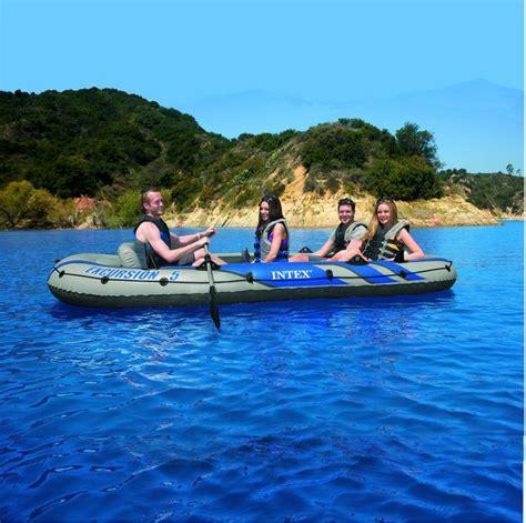 opblaasboot met motor intex excursion 5 opblaasboot set kopen fietsband