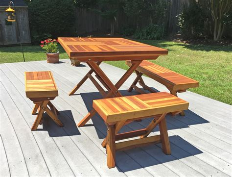 picnic table bench legs redwood rectangular folding picnic table with fold up legs