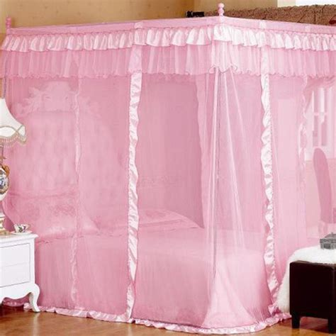 luxury canopy bed curtains mosquito net bed canopy lace luxury 4 corner square