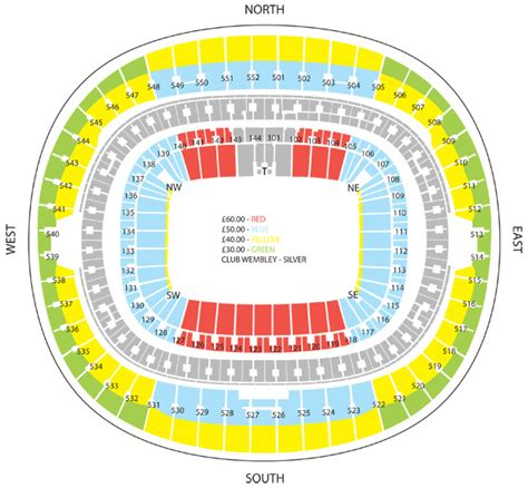 tottenham wembley seating plan away fans wembley seating plan wigan athletic football