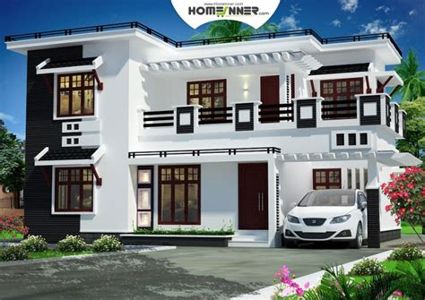 home plan design 4 bhk indian 1874 sqft modern contemporary 4 bhk villa home