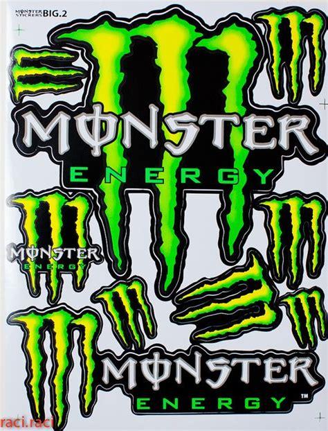 Green Monster Aufkleber by 13 Besten Monster Energy Racing Decals Bilder Auf