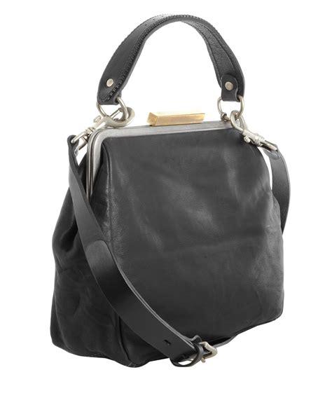 Blackkelly Backpacks 3 lyst ally capellino black frame shoulder bag in black