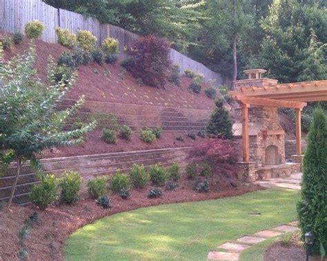 landscaping ideas for hillside backyard steep hillside landscaping ideas steep like ours