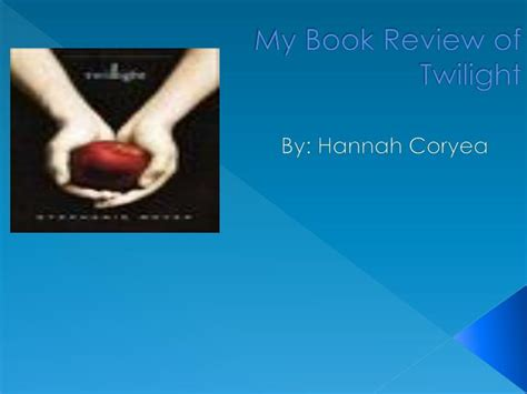 ppt my book review of twilight powerpoint presentation