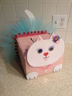 cat valentines box s day cat box crafts so