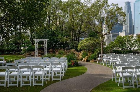 garden wedding venues near los angeles doubletree by los angeles downtown kyoto gardens