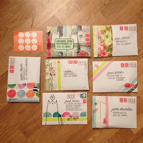 Envelope Decoration Ideas by 17 Best Creative Mail Ideas On Mail Pen