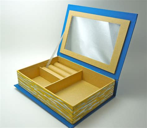 how to make a jewelry box how to make a jewelry box out of paper plans diy free