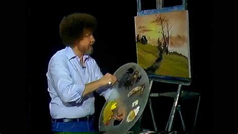 bob ross of painting dailymotion bob ross malerei goldenen h 252 gel malerei