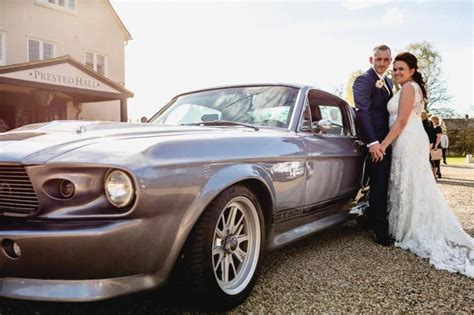 mustang wedding 1967 shelby mustang gt500 eleanor ford mustang wedding