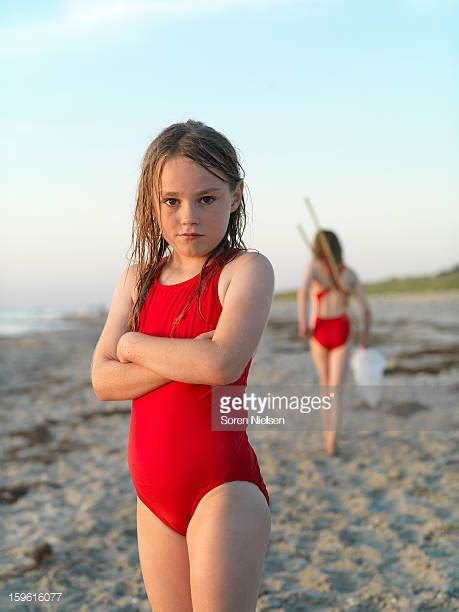 preteen swim preteen girls at the beach stock photos and pictures