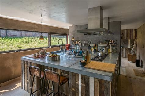 dutch kitchen design concrete and wood come together in this dutch kitchen