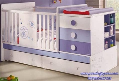Jual Lu Tidur Untuk Bayi jual box bayi kayu duco warna putih harga murah model