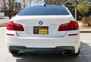 Bmw 550i M Sport 2014 Used Bmw 5 Series 550i With Executive Driver Assist