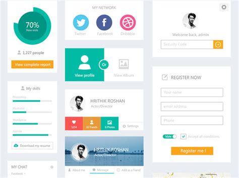 web design ui meaning free flat ui kits ewebdesign