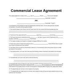 26 free commercial lease agreement templates template lab