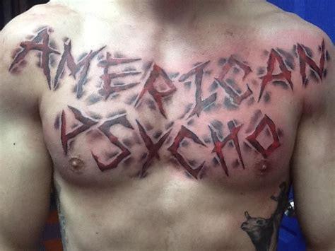 american psycho tattoo american psycho by cat johnson tattoonow