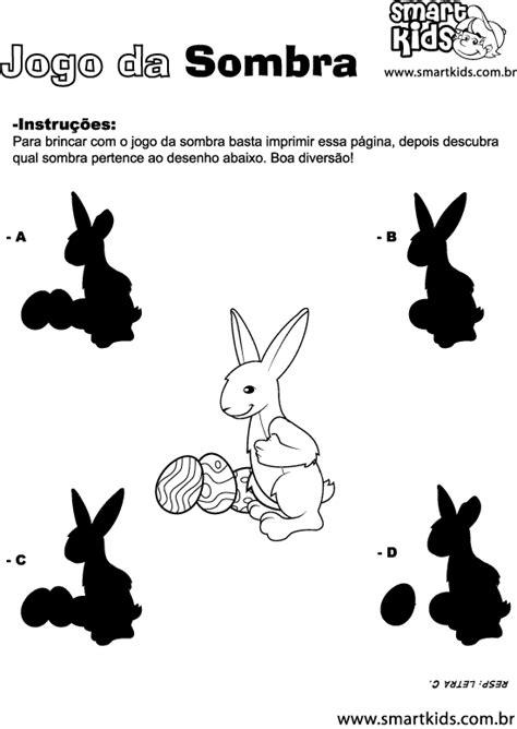 Atividade Páscoa Sombra - Atividades - Smartkids