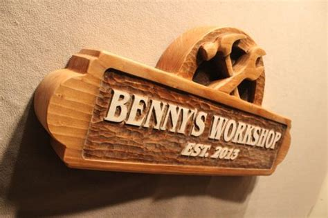 hand  carved wooden signs custom wood signs shop