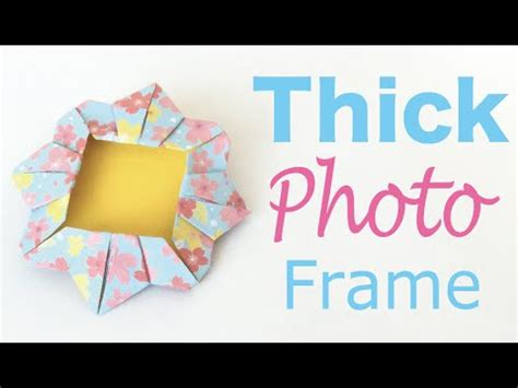 Origami Paper Thickness - origami paper thick photo frame diy origami kawaii 138