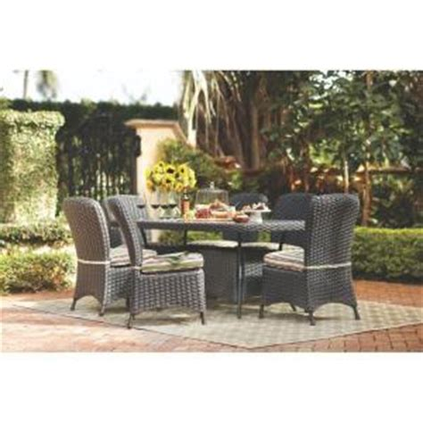 martha stewart lake adela patio furniture martha stewart living lake adela charcoal 7 patio