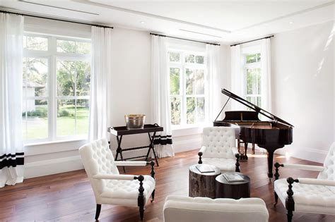 modern family living room house living room piano modern neoclassical style miami home with pool pavilion