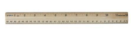 ruler template inches ruler inches actual size