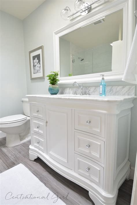 bathroom vanity makeover ideas centsational bathroom remodel complete