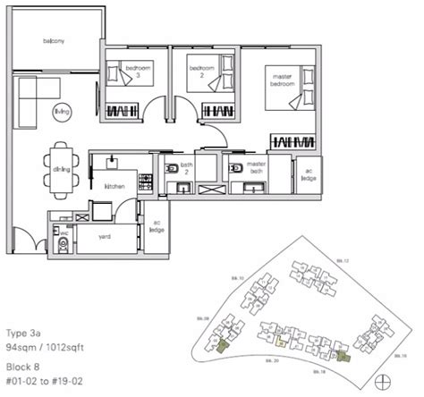 02 floor plan panorama floor plan 3 br stack 02 singapore condo for sale