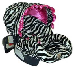 Zebra Seat Covers For Car Baby Zoe Zebra Pink Ruffle Baby Carseat Cover