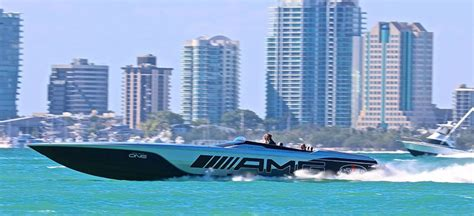 miami boat show display 2018 miami boat show s high performance highlights boats