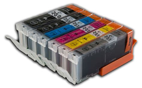 1 canon pgi 250 cli 251 xl bk c m y gy us version compatible ink cartridge ebay