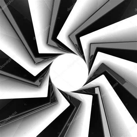 imagenes en blanco y negro en 3d 3d abstracto fondo blanco y negro fotos de stock