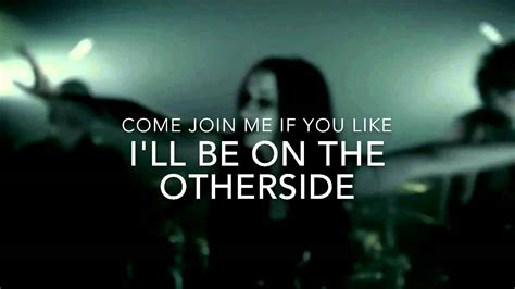 new years day otherside lyric video youtube