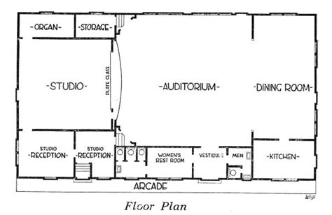 radio city floor plan the radio historian