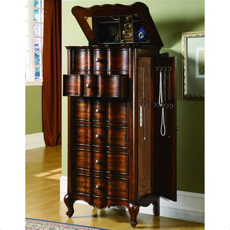 oversized jewelry armoire large capacity jewelry armoire gallery