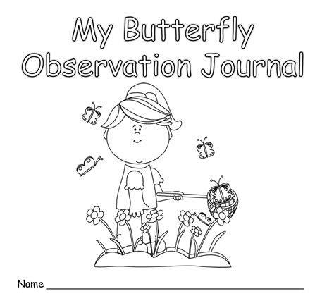 printable observation journal kindergarten giggles n grins