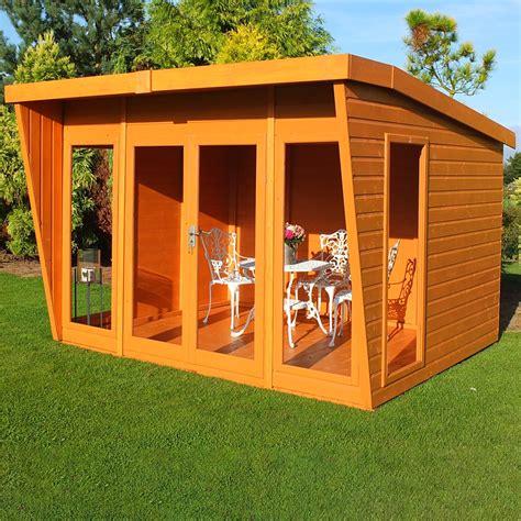 premier wooden summerhouse double doors mm tg walls floor