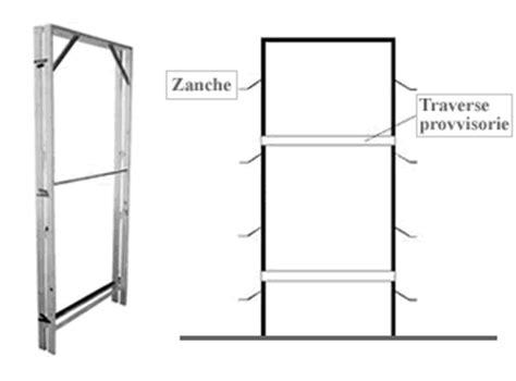 controtelaio porta interna fissare i controtelai per porte