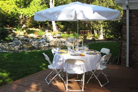 patio table set rentals corporate events planner