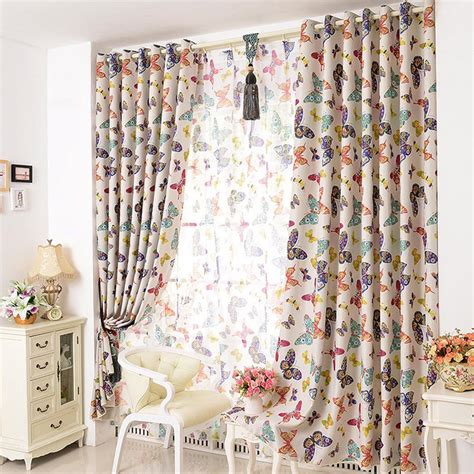 butterfly bedroom curtains brighten up your room with butterfly curtains tcg