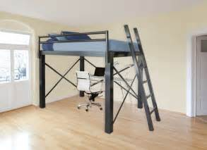 Hutch Desk Furniture Know Better About Queen Size Loft Bed Atzine Com