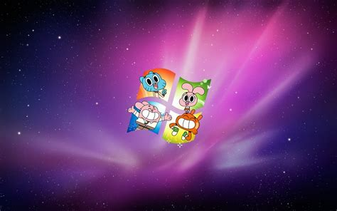 amazing world of gumball wallpaper for windows 7 by