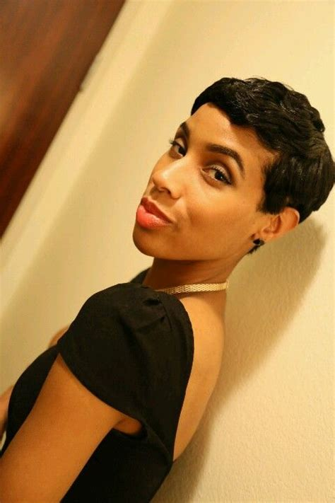 short cut with feathers african americans styles pixie cut african american hairstyles haircut shortcut