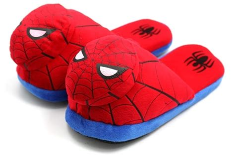 spider slippers spider plush slippers