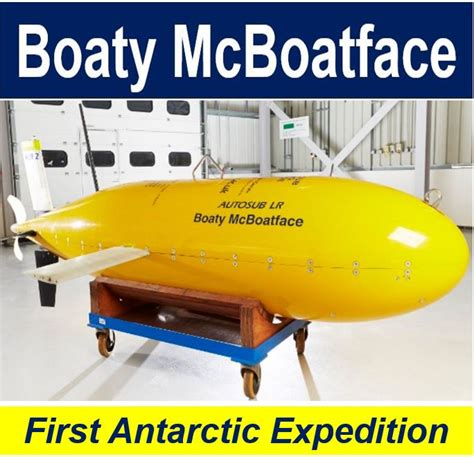 boaty mcboatface boaty mcboatface minisub on first antarctic mission