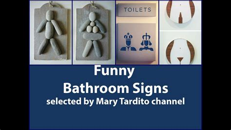 fun bathroom signs 40 creative and funny bathroom signs youtube