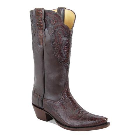 Handmade Ostrich Boots - monte carlo ostrich leg caboots custom cowboy boots